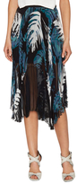 Timo Weiland Tabitha Silk Sunburst Pleat Skirt