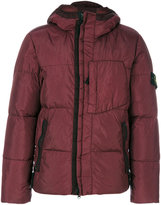 Stone Island shell puffer jacket - men - Feather Down/Polyamide/Polyurethane Resin - M