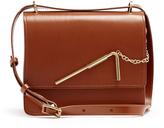 Sophie Hulme Straw medium leather shoulder bag