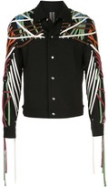 Rick Owens Megalaced Worker lace-detail jacket