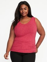 Old Navy Semi-Fitted Plus-Size Rib-Knit Tank