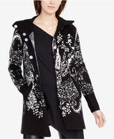 Rachel Roy Printed Sweater Coat, Created for Macy's
