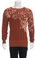 Bottega Veneta Splatter Print Wool Sweater
