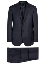 Corneliani Midnight Blue Super 120's Wool Suit