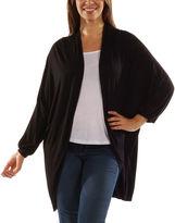 24/7 Comfort Apparel Women's Dolman Sleeve Oversized Long Shrug