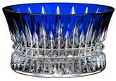 Waterford Lismore Diamond Cobalt Nut Bowl