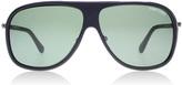 Tom Ford Chris Sunglasses Matte Black 02n