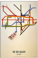 John Lewis London Transport Museum - Tate Gallery Unframed Print, 30 x 40cm