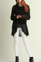 Umgee USA Black Lace Sweater