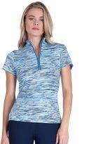 Women's Tail Quarter-Zip Moisture-Wicking Mockneck Golf Polo
