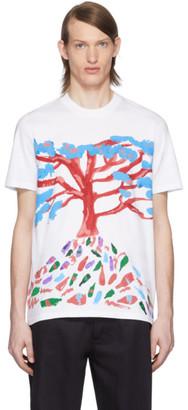 Marni White Tree T-Shirt