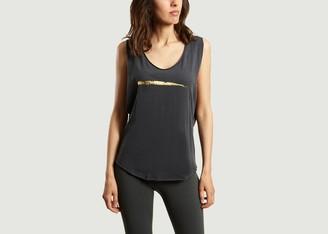 Ana Heart - Dark Grey Morrison Polyamide T Shirt - Size M | cotton | dark grey - Dark grey