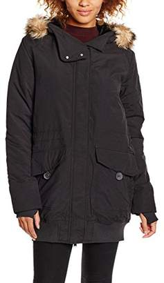 Bench Women's Expressionist Jacket, Jet Black, 10 (Size:)