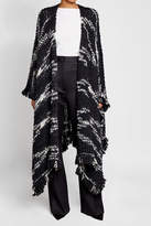 Missoni Cape with Wool and Mohair