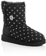 UGG Girls' Bailey Button Polka Dot Boots - Little Kid, Big Kid