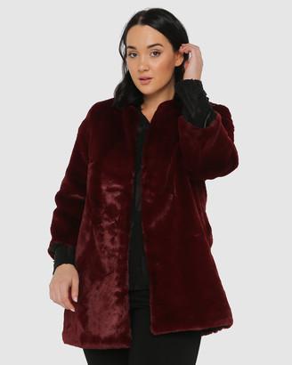 Advocado Plus Unreal Faux Fur Coat