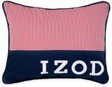 Izod Varsity Stripe Pinstripe Oblong Throw Pillow