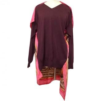 Celine Burgundy Wool Top for Women
