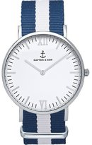 Kapten And Son Men's Campus CAMPUS-WHITE-SAIL-40MM Nylon Quartz Dress Watch