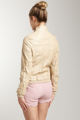 Vertigo Faux Leather Jacket