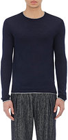 Barneys New York Men's Cashmere Sweater-NAVY