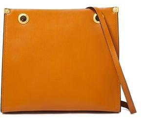 Marni Eyelet-embellished Leather Shoulder Bag