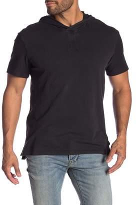 John Varvatos Short Sleeve Pullover Hoodie