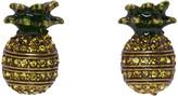 Marc Jacobs Brass Pineapple Earrings