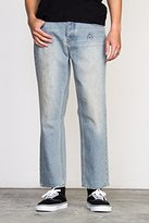 RVCA Men's Cotton Flood Jean