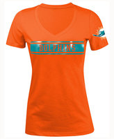 5th & Ocean Women's Miami Dolphins Touchback LE T-Shirt