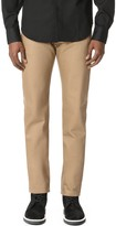 Naked & Famous Denim Weird Guy - Beige Selvedge Chino Jeans