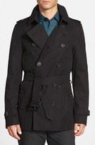 Burberry Men's 'Sandringham' Short Double Breasted Trench Coat