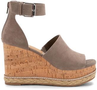 Dolce Vita Otto Suede Ankle-Strap Platform Wedge Sandals