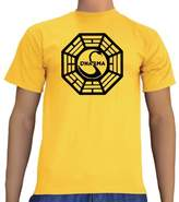 Touchlines Unisex T-Shirt Lost Dharma Logo,Large