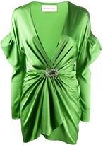 Alexandre Vauthier long-sleeve mini dress