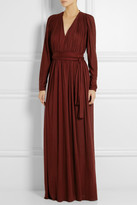 Lanvin Ruched jersey gown