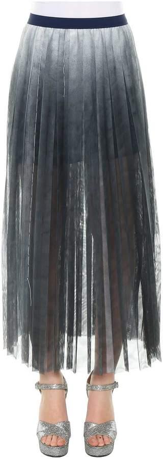 Aviu Pleated Midi Skirt