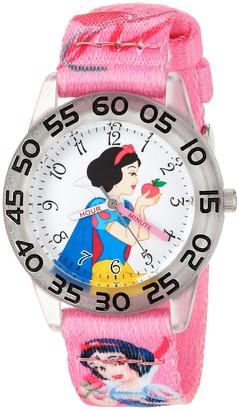 Disney Girls' Snow White Analog-Quartz Watch with Nylon Strap