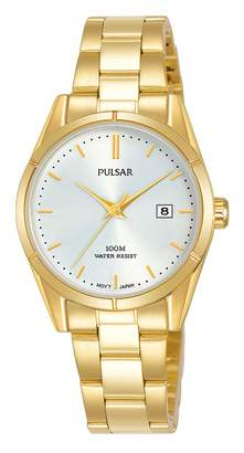 Pulsar Womens Analogue Quartz Watch with Stainless Steel Strap PH7476X1