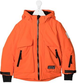 Molo Multi-Pocket Hooded Coat
