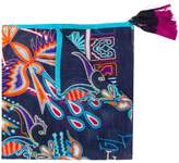 Etro paisley embroidered scarf