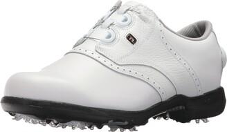 Foot Joy Women's DryJoys Boa Golf Shoes White 11 M US