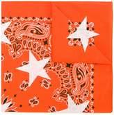 GUILD PRIME patterned star print scarf