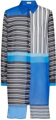 Gottex Stripe Shirt Tunic