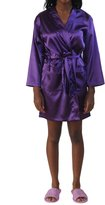 Hot-Shelf Womens Satin Kimono Robe (Large/OneSize, )