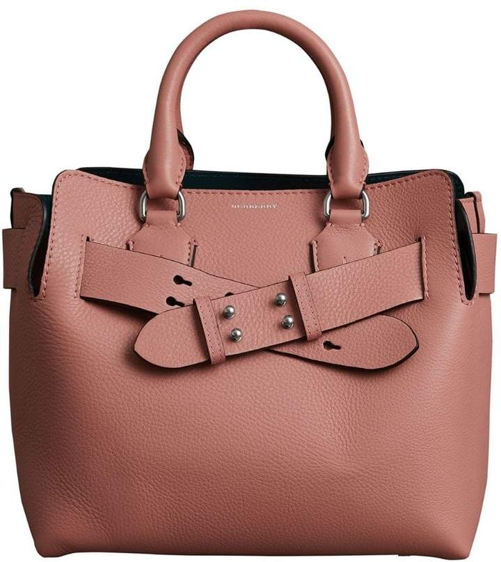 f5c079480658 Burberry Pink Leather Handbags - ShopStyle