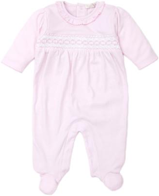 Kissy Kissy CLB Fall Pink Footie Playsuit, Size Newborn-9 Months
