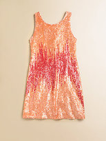 Flowers by Zoe Girl's Sequined Tank Dress