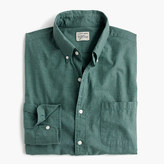 J.Crew Tall Secret Wash heather poplin shirt