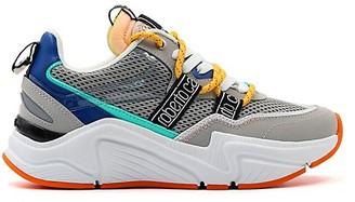Roberto Cavalli Sport Netted Colorblock Sneaker